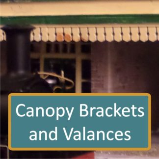 Canopy Brackets and Valances